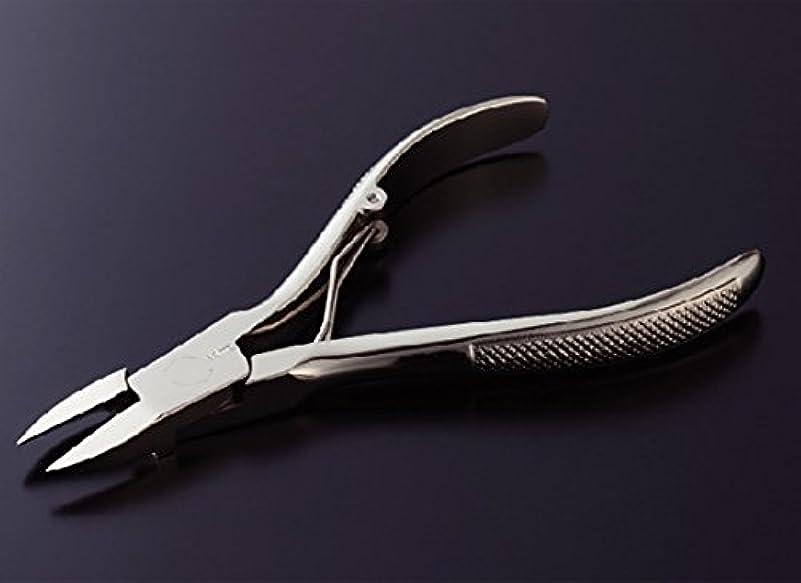 トラブル陰気ブース光月作手作りニッパ型爪切り巻き爪用
