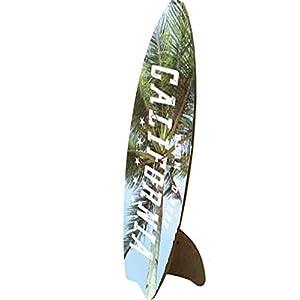 お部屋を飾る インテリア アート デザイン ボード サーフ 長さ32cm カルフォルニア
