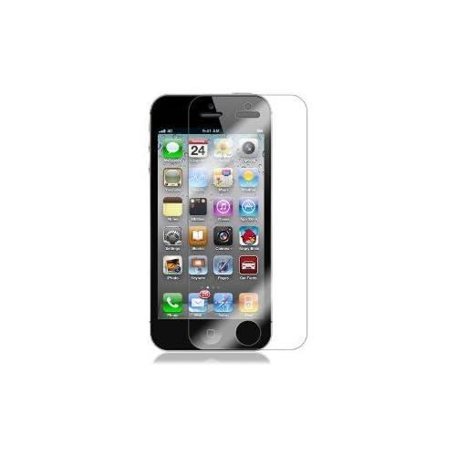 【2枚セット】Apple iPhone5 液晶保護フィルム( 2012年 アイフォン 5 モデル 対応 Film Set )Screen Guard + 取付専用クロス【画面指紋防止】