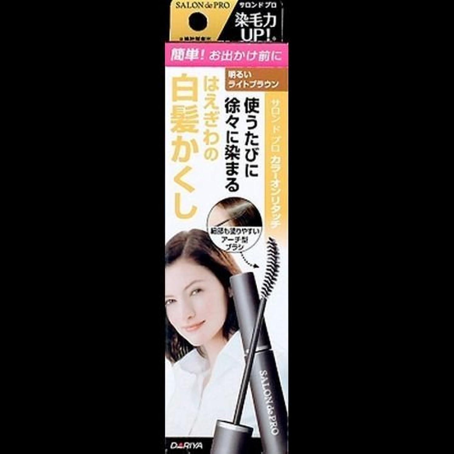 エキスパートますますパトロン【まとめ買い】サロンドプロ カラーオンリタッチ 白髪かくしEX 明るいライトブラウン 15ml ×2セット
