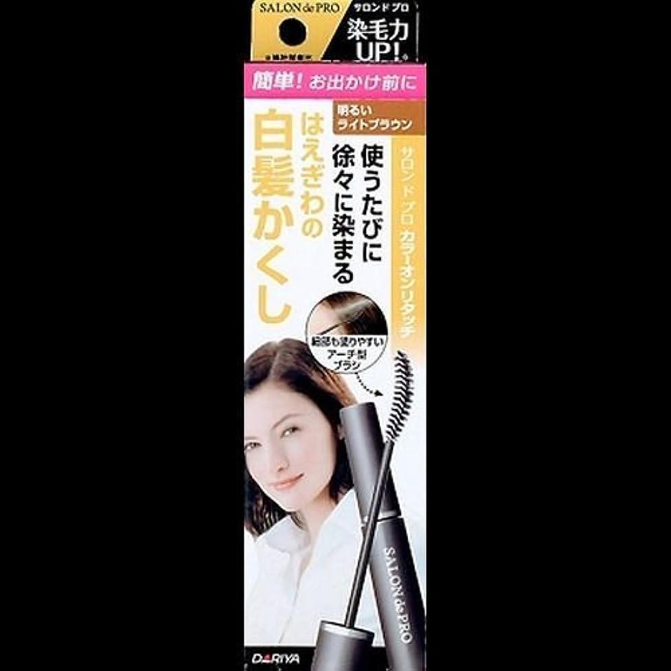 窒息させる敬な苦情文句【まとめ買い】サロンドプロ カラーオンリタッチ 白髪かくしEX 明るいライトブラウン 15ml ×2セット