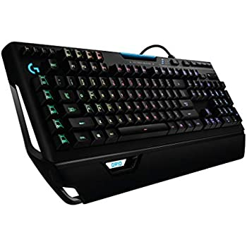 ゲーミングキーボード メカニカル Logicool ロジクール G910r ブラック メカニカル Romer-G RGB パームレスト 専用メディアコントロール  国内正規品 2年間メーカー保証
