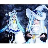 コスプレ 衣装 COS/COSPLAY 雪初音 雪ミク 魔法少女 女性サイズS