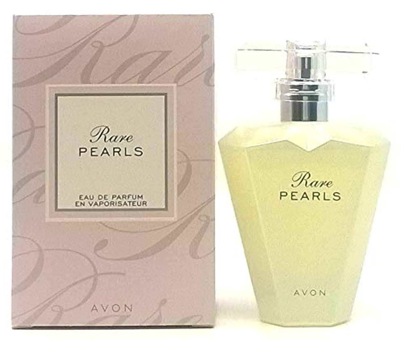 居住者傷つける売り手AVON Rare Pearls For Her Eau de Parfum 50ml