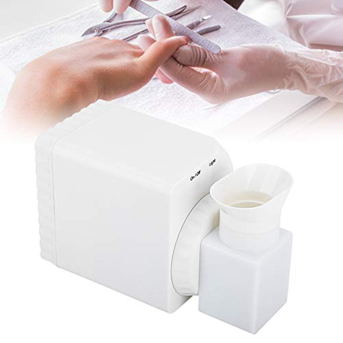 応じる十立場ネイルダストコレクター、強力な吸引ネイルアート掃除機マニキュアツール100-240 vネイルアートソロン(私たち)