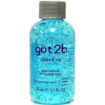Got 2B Gel Spiked Up 75 ml (Pack of 12) (並行輸入品)