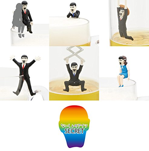 RoomClip商品情報 - コップのフチのアイツ シークレット 入全7種 PUNKDRUNKERS全7種 1 なれなれしいアイツ 2 引っかかりアイツ
