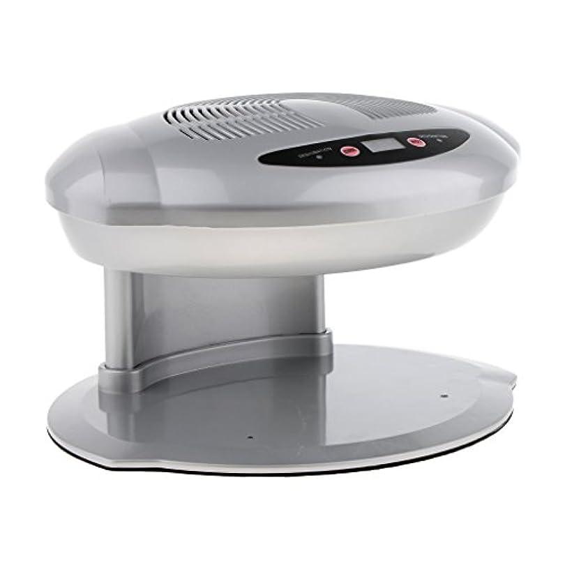 電子レンジ蜂下品Perfk ネイルファン ドライヤー ネイルアート プロ 自動センサー 乾燥機 暖かい 涼しい 空気ファン