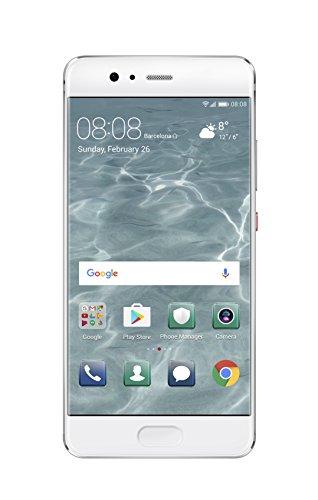Huawei 5.1型 P10 SIMフリースマートフォン ミスティックシルバー 【日本正規代理店品】 P10/VTR-L29/Mystic Silver