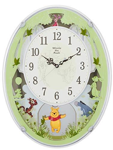 ディズニー くまのプーさん 掛け時計 電...