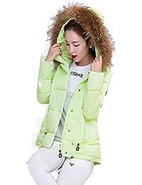 Shop358 コート ダウンコート ダウン ダウン ジャケット ファー ボア レディース ジャケット 秋 冬 ガールズ ブルゾン カジュアル エレガンス 全4色