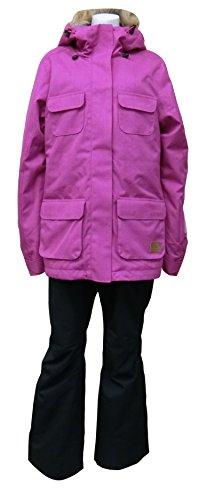 [해외]온요네 (ONYONE) 여성용 스키 복 상하 세트 ONS80530 956009 핑크 L ONS80530/Onyone (ONYONE) Ladies` ski wear top and bottom set ONS 80530 956009 Pink L ONS 80530