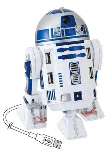 スター・ウォーズ R2-D2 USBハブ