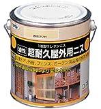 アサヒペン 超耐久屋外用ニス 0.7L 透明(クリヤ)