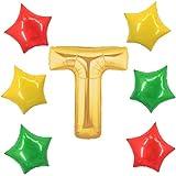 アドワン 数字 風船 バルーン 飾り付け 誕生日 ゴールド 大きい 数字1~9 文字 記念日 お祝い (T)