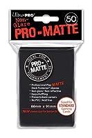 Ultra Pro PRO-MATTE (100枚) ブラック デッキプロテクタースリーブ - マジックザギャザリング 3 Pack ブラック
