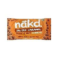 塩漬けキャラメルニブルの40グラム (Nakd) - Nakd Salted Caramel Nibbles 40g