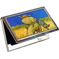 The Reaper by Vincent Van Goghビジネスカードホルダー