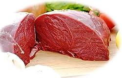 ジビエ 北海道特産 えぞ鹿もも肉 冷凍1.0kg
