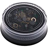 GRALARA ネイルアート 混合 ミックス ラインストーン グリッター キラキラ DIY 工芸品 デコレーション 12タイプ選べ - D
