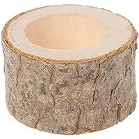 滑らかな木製ナプキンリング 布製ホルダー 素朴 ウェディングパーティー テーブル装飾 ギフト 1個