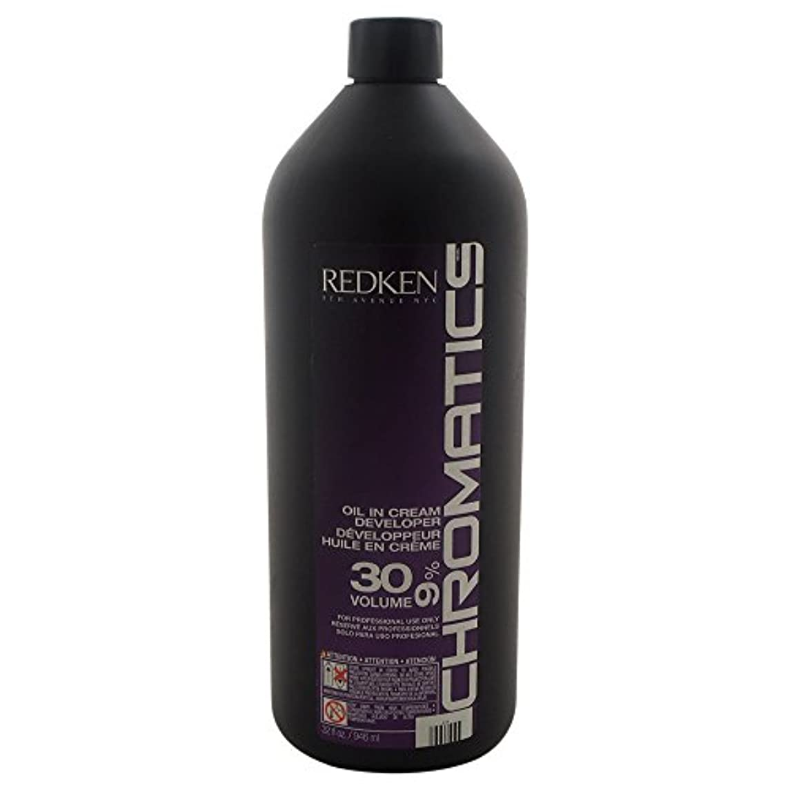 納屋以下背が高いRedken Chromatics Oil In Cream Developer 30 Volume 9 Percent Cream, 32 Ounce by Redken