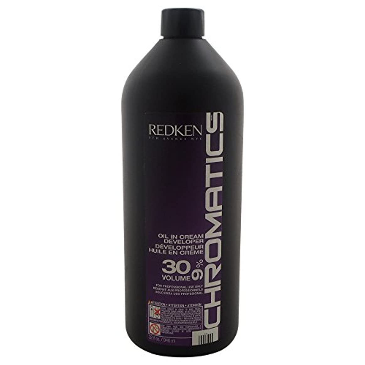 腸以降泥Redken Chromatics Oil In Cream Developer 30 Volume 9 Percent Cream, 32 Ounce by Redken