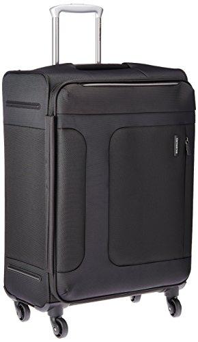 [サムソナイト] SAMSONITE ASPHERE / アスフィア スピナー66 (67cm/70L/3.1Kg) (スーツケース・ソフトケース・トラベル・軽量・大容量・エキスパンダブル・TSAロック装備・保証付) 72R*09002 09 (ブラック)