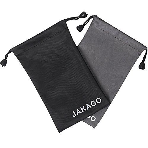 サングラス ポーチ スマホ袋 巾着袋 2枚セット 多機能整理...