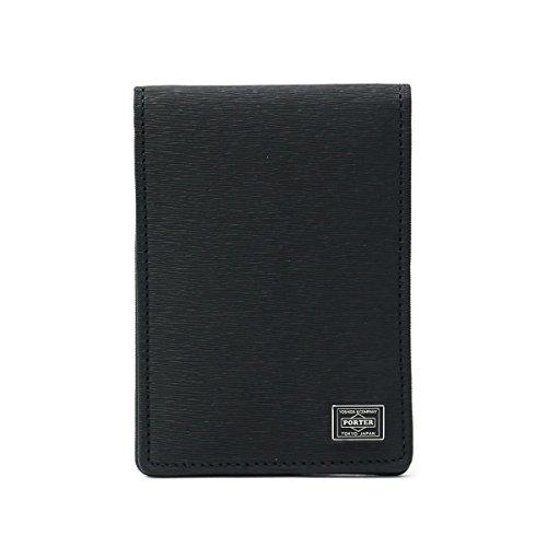 ポーター(porter)・カレント・パスケース(2つ折り) (ブラック)
