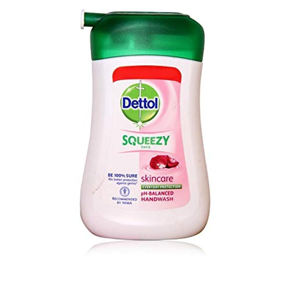 反映する特定の風邪をひくDETTOL Squeezy Pack Skincare Liquid Hand WASH 100ML