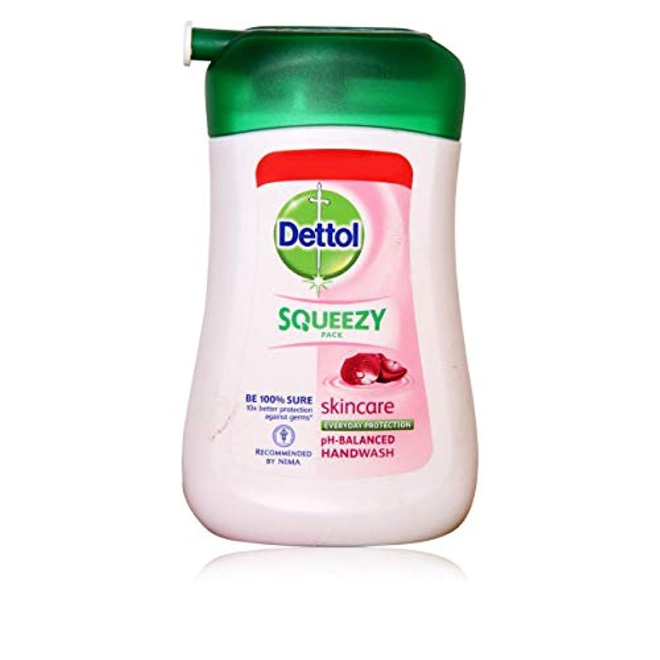 時間とともに階ボーナスDETTOL Squeezy Pack Skincare Liquid Hand WASH 100ML