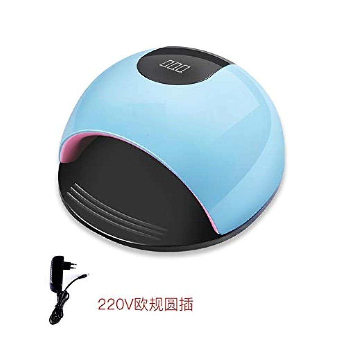 より平らな動機キノコLittleCat 80ワットハイパワーLEDランプネイルUVクイック乾燥機ネイルネイルヒートランプライトセンサードライヤー (色 : A 1)