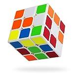 スピードキューブ MIXBIC(ミックスビック) 立体パズル 3×3×3 ルービックキューブ スムーズ回転 ポップ防止 ver.2.0 世界基準配色 57mm 白素体 D3 生涯保証