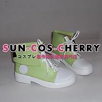 【サイズ選択可】コスプレ靴 ブーツ Z1-054 カゲロウプロジェクト メカクシ団団員NO.1 キド 木戸つぼみ 男性25.5CM