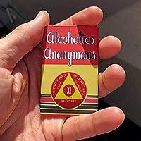 11年 AA チップ「初版」 アルコール系 アノニマス ビッグブック ソブリエティー ギフト