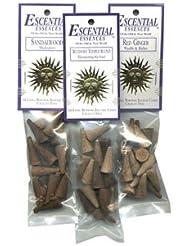 Dragon 's Blood – Escential Essences Cone Incense – 16円錐パッケージ