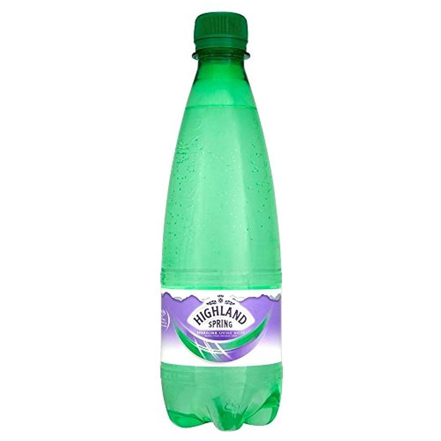 パーティーフェデレーションカエルHighland Spring Sparkling Natural Spring Water (500ml) 高原スプリング輝く自然の湧水( 500ミリリットル)