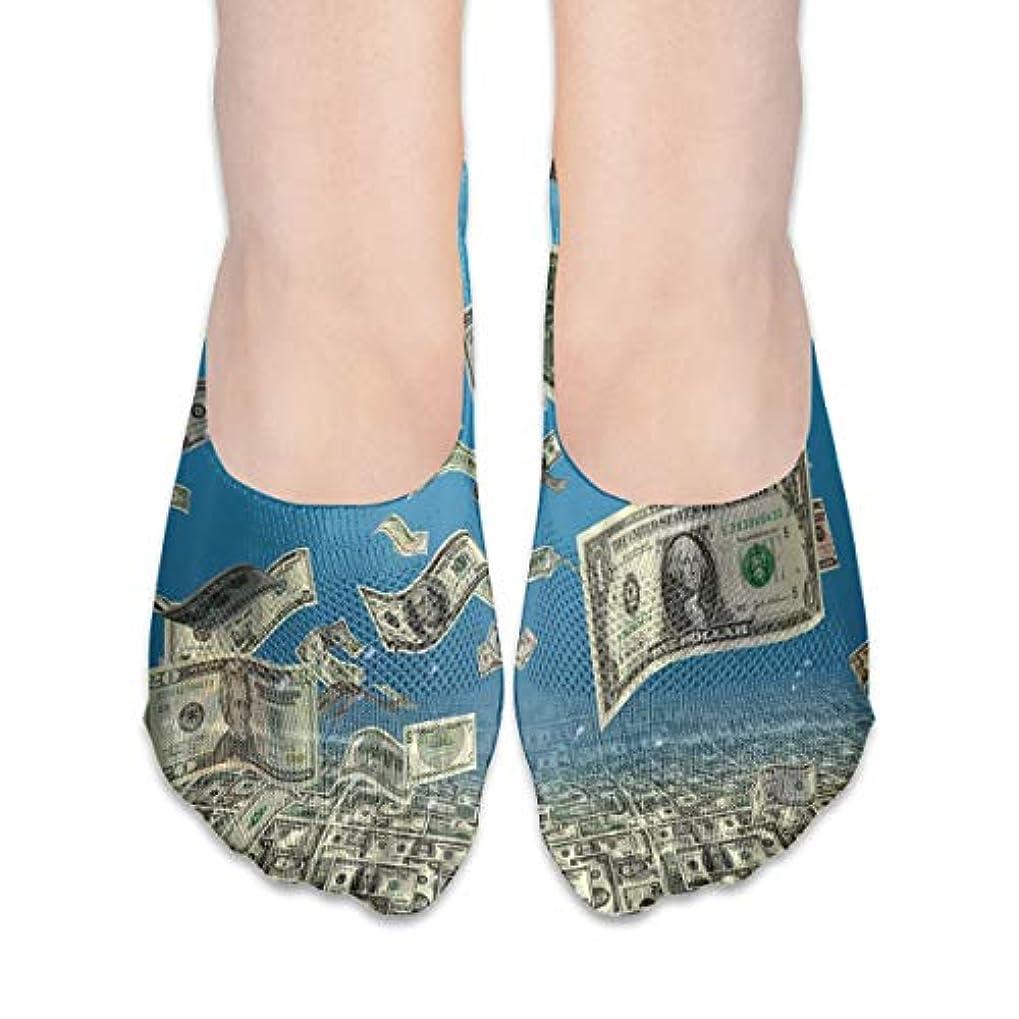 統計襲撃感じ女性のアメリカ手形ローカットコットンボート隠し目に見えない靴下