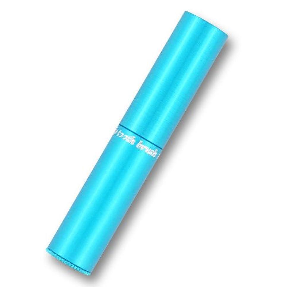 バンジョー強い忘れられない携帯歯ブラシ?タベタラmigaCO(ブルー)