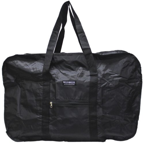 (エクサス)EXAS ポリエステルBIGビッグサイズボストン(Lサイズ) ブラック(折りたたみ式)