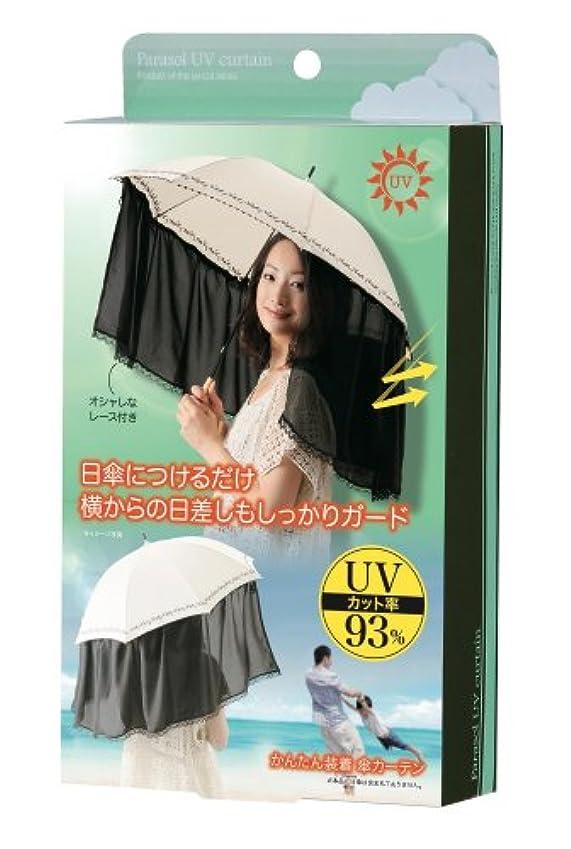 日付付き心理的にソーダ水かんたん装着 傘カーテン