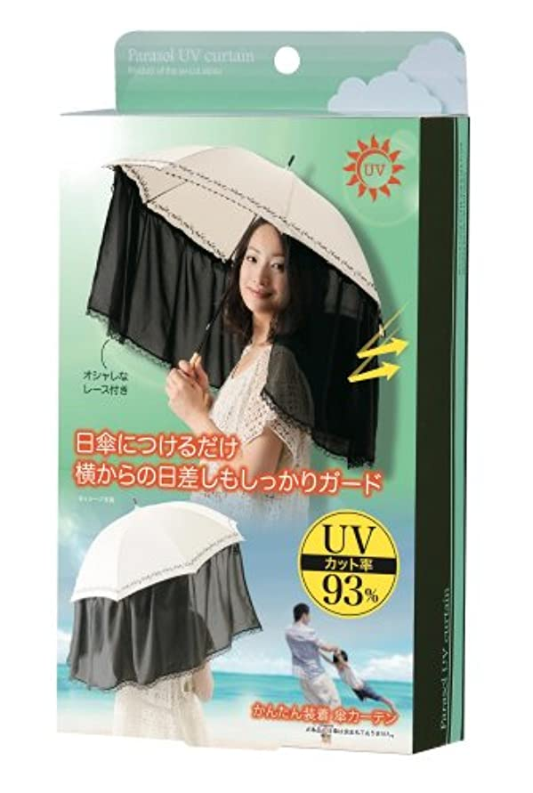 離れて誓う図かんたん装着 傘カーテン