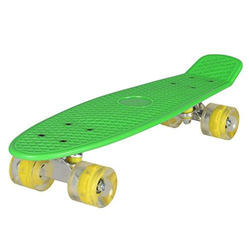 Ancheer エスボード スケートボード … (緑)