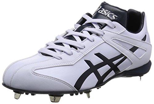 [アシックス] 野球スパイク NEOREVIVE LT2 ホワイト×ネイビー 23.0 2.5E (現行モデル)