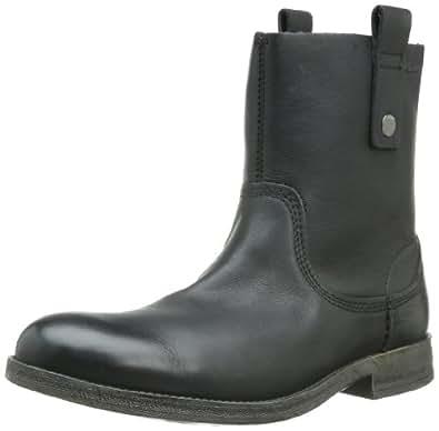 [クラークス] Clarks Goby Chelsea 20355003 Black Leather(Black Leather/9)