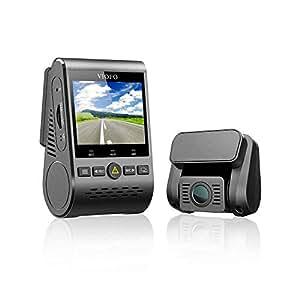 VIOFO A129 Duo ドライブレコーダー ドラレコ 前後カメラ 前後2カメラ デュアルレンズ デュアルカメラ SONY製センサー 前後スタービス 夜間撮影に強い F1.6 明るいレンズ フルHD 1920×1080 Wi-Fi搭載 GPS WDR補正 Gセンサー 2インチ画面 広角140° 最大256GB 駐車監視 地デジノイズ対策済み 1年間保証