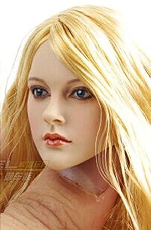 NuoYamy 1:6 KUMIKアクセサリアクションフィギュアCG CYガール女性の頭部
