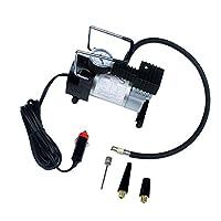 Perfk プロ仕様 電動ポンプ 車 エアコンプレッサー 100PSI インフレータ 12V タイヤ 空気入れ 多用途