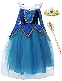 FashionModa4U DRESS ガールズ US サイズ: 3L カラー: ブルー